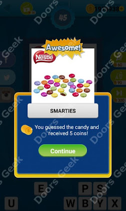 Answers, Cheats, Solutions for Guess the Candy Level 45 for android and iphone