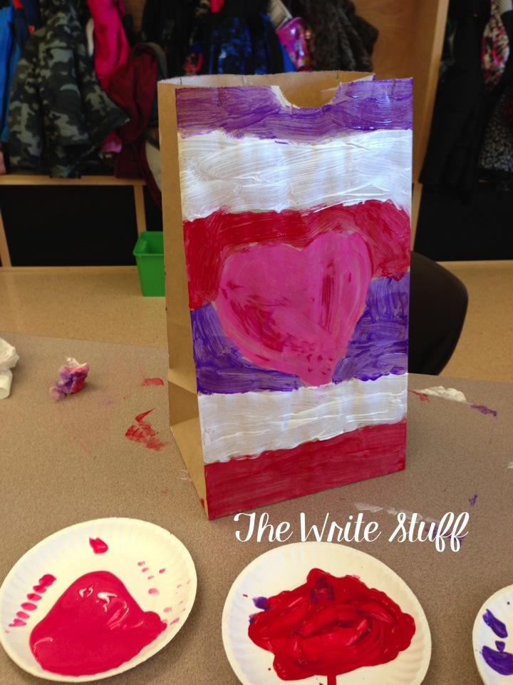 Decorating Ideas For Valentine Paper Bag Holder