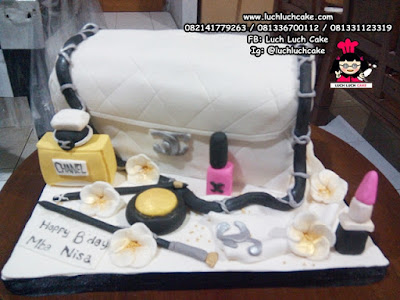 Kue Tart Carving Cake Channel Bag