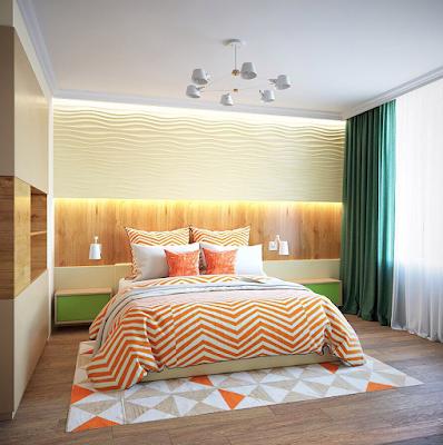 dekorasi kamar tidur ukuran 3x3 minimalis terbaru