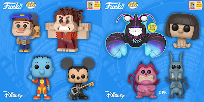 San Diego Comic-Con 2018 Exclusive Disney POP! Vinyl Figures by Funko