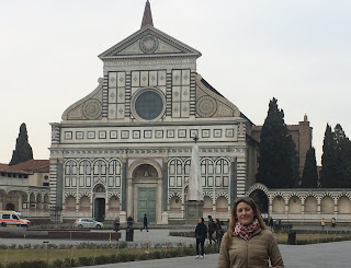 The Church of Santa Maria Novella in Florence was built in the 13th century