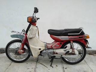 Dijual yamaha v80 bagong/robot 1983