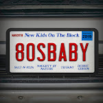 New Kids On the Block, Salt-N-Pepa, Naughty By Nature, Tiffany & Debbie Gibson - 80s Baby - Single Cover