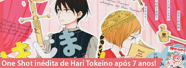 One Shot inédita de Hari Tokeino após 7 anos!