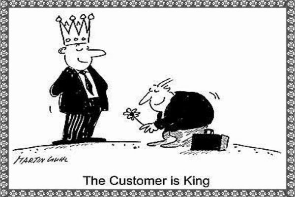 Customer-is-King-How to Make Customers Centric Business-600x400