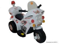 Motor Mainan Aki Junior MD991 Police