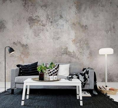 gambar motif wallpaper kamar tidur