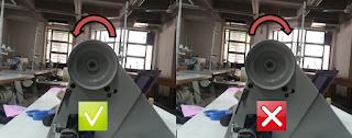 sewing machine hand wheel