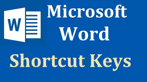 Microsoft Word shortcut keys and there functions download pdf