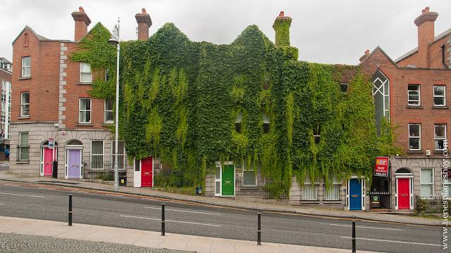 Calles Dublin Irlanda puertas