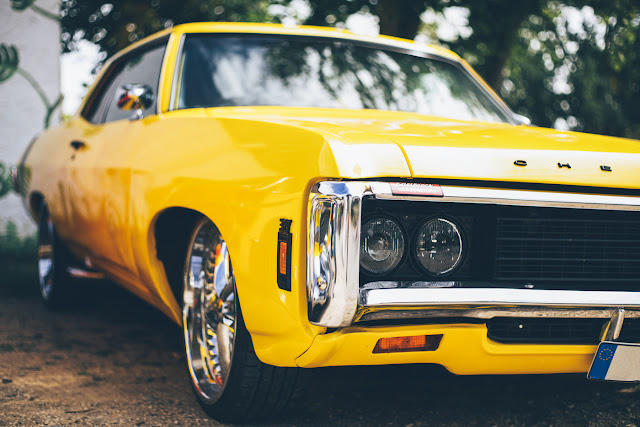 Muscle Car immagine gratis CC0