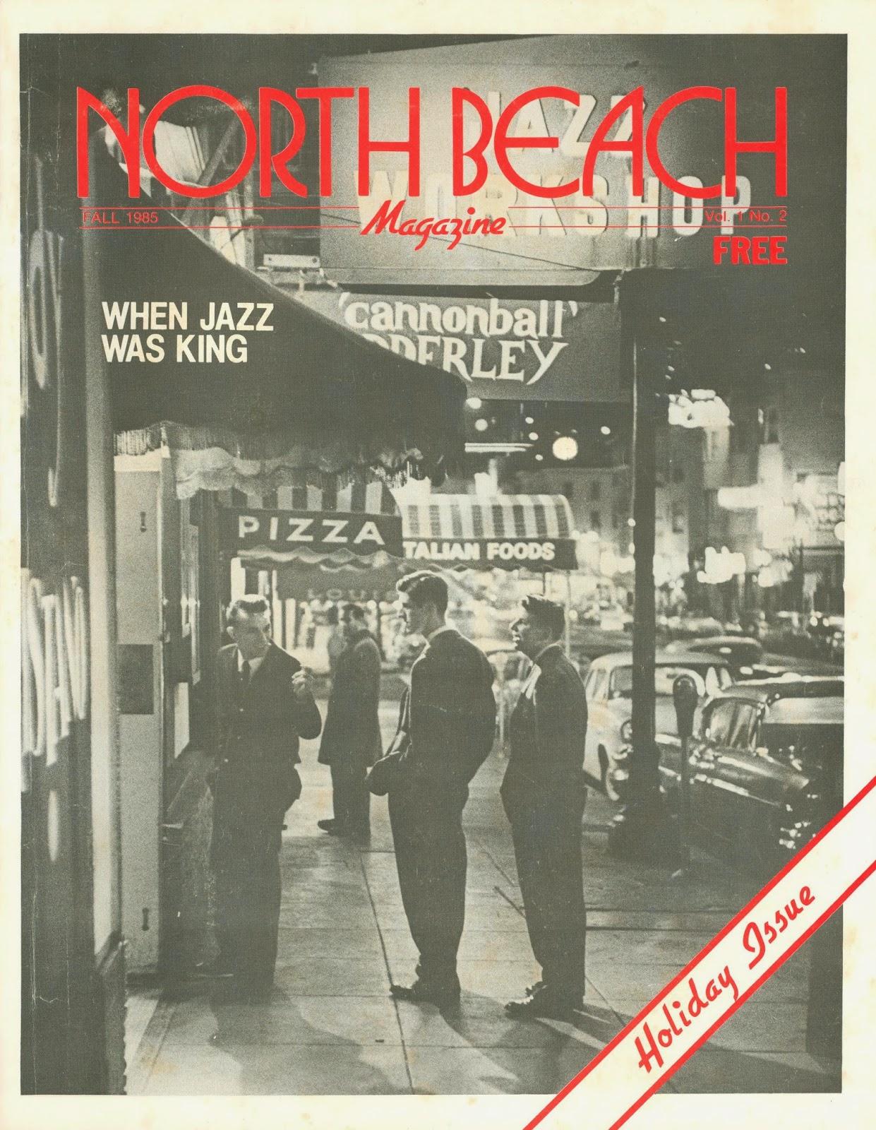 Guest Blogger Jordon Zorker Last Missive From The Cellar Photo Of North Beach Jazz Festival San Francisco