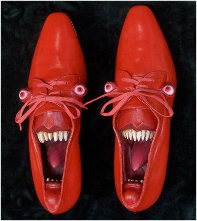 en ilginç ayakkabılar
