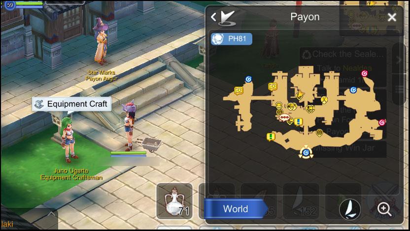 Ragnarok Online Mobile Diaries: Crafting Equipment - Payon [Juno Ugarte]