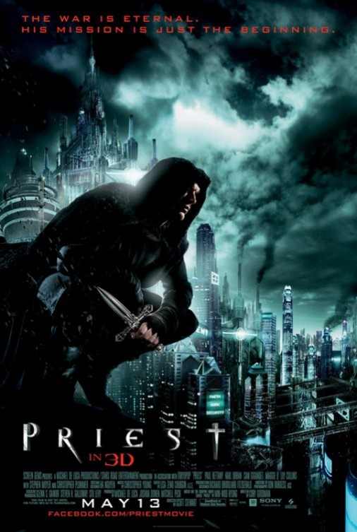 El Sicario de Dios [Priest] 2011 DVDRip Español Latino Descargar 1 Link