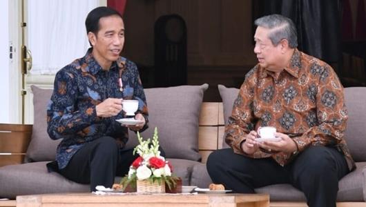 Buka Pintu Demokrat Merapat, TKN: Komunikasi Jokowi dengan SBY-AHY Baik