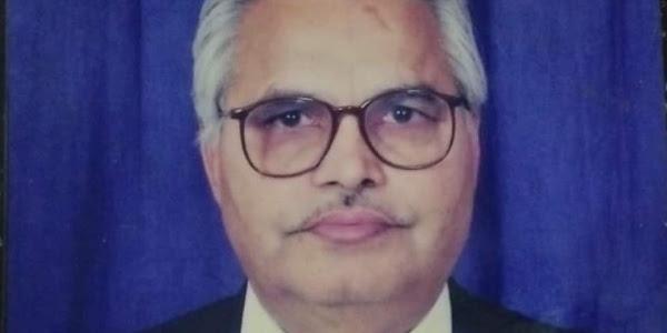नगर के कर्मयोद्धा, जनसेवा महामंत्र के प्रणेता एसएस यादव का निधन