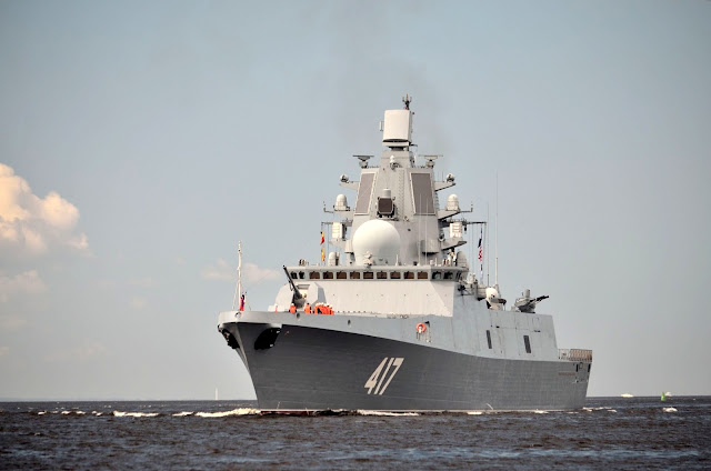 Image Attribute: Admiral Gorshkov (Project 22350/Pennant Number:  417) / Source: TASS