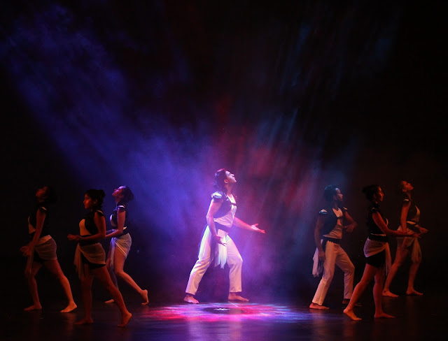 Shadow dance dedicated to Various Shades of Delhi at Take The Stage
