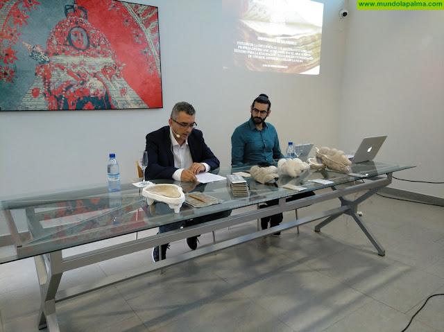 Carlos Morán habló sobre la tradición y la tecnología en la confección de mascarones palmeros
