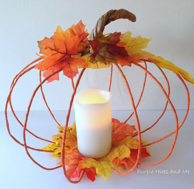 http://www.purplehuesandme.com/2017/10/how-to-make-floral-wire-pumpkin.html