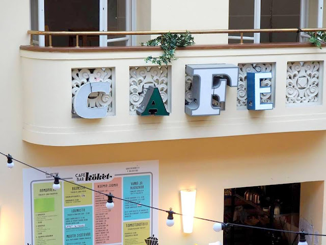 Cafe Köket, Maitokahvimedia, juhlatila, brunssi, ravintola, kahvila