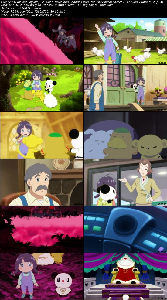 Go-Chan Moco and Friends From Peculiar Animal Forest 2017 Hindi Dubbed 720p WEB-DL 600MB