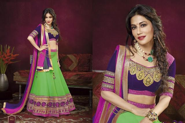 latest-lehenga-saree-indian-blouse-designs-2016-17-for-women-4