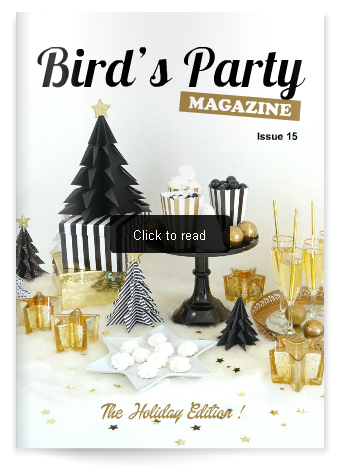Bird's Party Magazine - Holiday Party & Gift Guide 2016 | BirdsParty.com