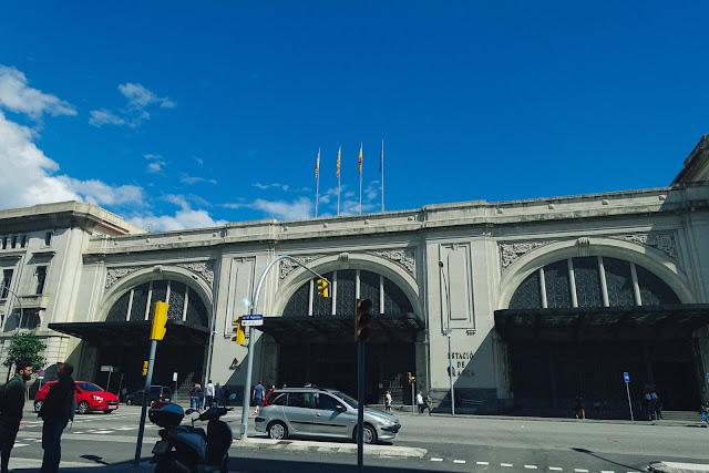 フランサ駅(Estación de Francia)