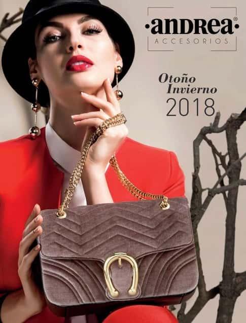 virtuales de bolsos y accesorios Andrea 2018 Otoño Invienro