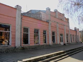 Новомосковск. Бывший кинотеатр «Авангард»