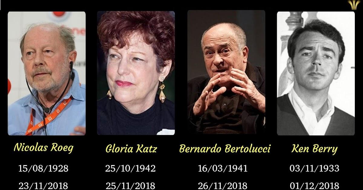 Tem Na Web - MORREM NICOLAS ROEG, BERNARDO BERTOLUCCI, GLORIA KATZ E KEN PERRY