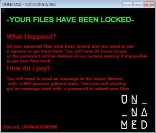 UNNAM3D Ransomware