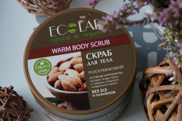 Cukrowy rozgrzewający scrub do ciała Ecolab - ujędrnienie i nawilżenie ciała w zgodzie z naturą