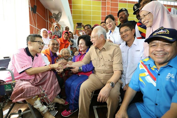 [Video] PM Najib Tidak Kutuk Kegagalan Kerajaan Negeri Pulau Pinang Sebaliknya...