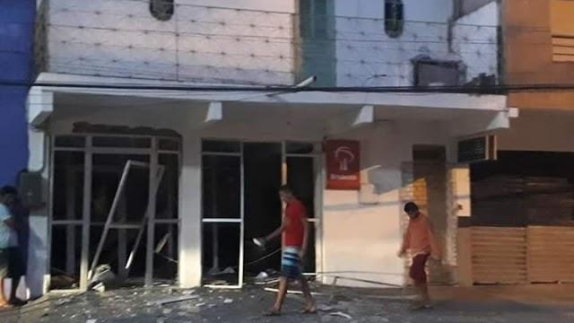 Grupo explode agência bancária em Monsenhor Tabosa