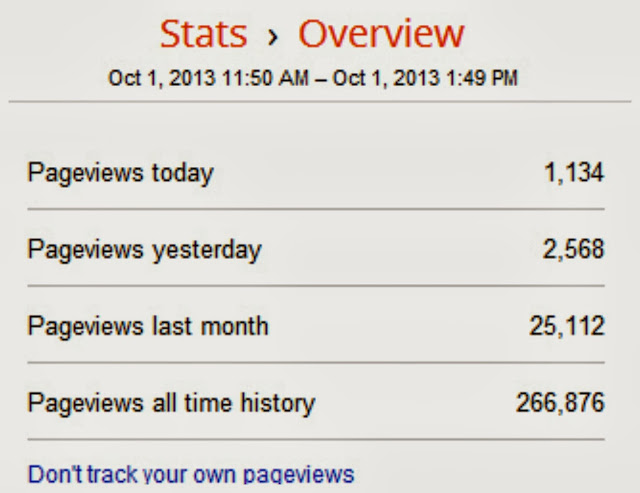 Get Over 2000 Page Views in One Day