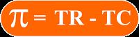 n = Profit atau Laba  TR = Total Revenue   TC = Total Cost