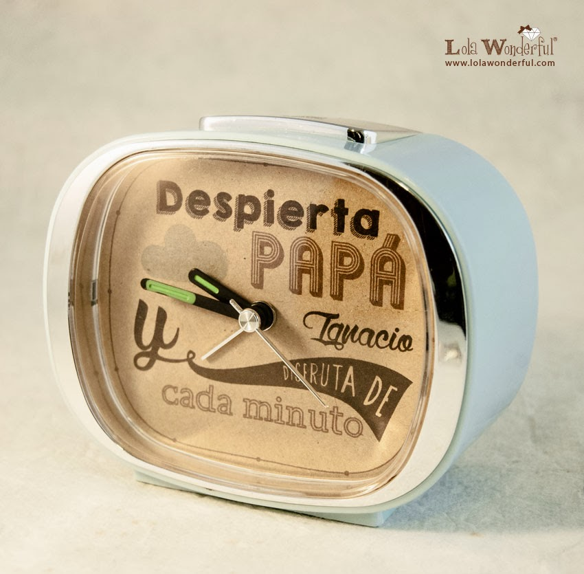Lola wonderful regalos personalizados y dise o para - Relojes de pared personalizados ...