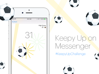 Facebook messenger football hidden game