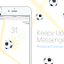 Facebook messenger football hidden game, try it now