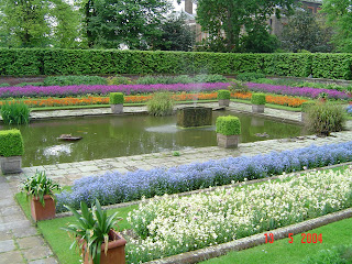 Travel Kensington Palace Garden London United Kingdom