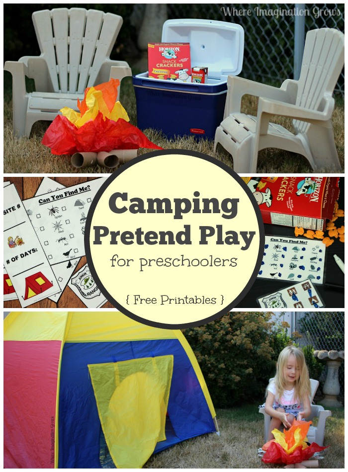 FREE Camping Printables - Every Star Is Different