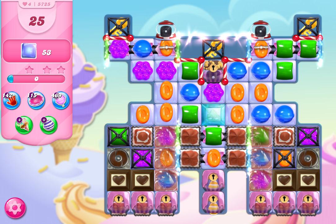 Candy Crush Saga level 5725