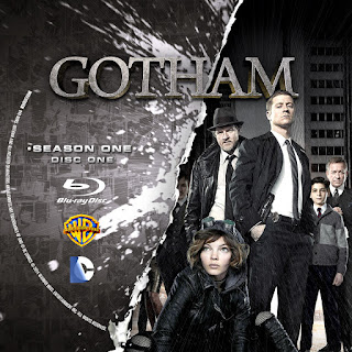 Label Bluray Gotham Primeira Temporada D1 a D4
