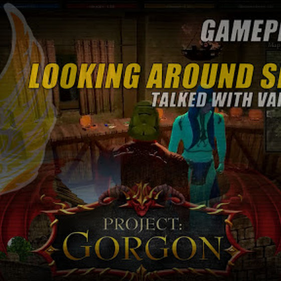 Project Gorgon ★ Looking Around Serbule ★ Talked With Various NPCs