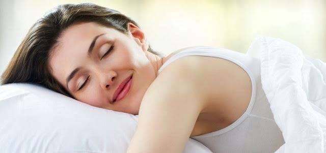 sleeping girl image