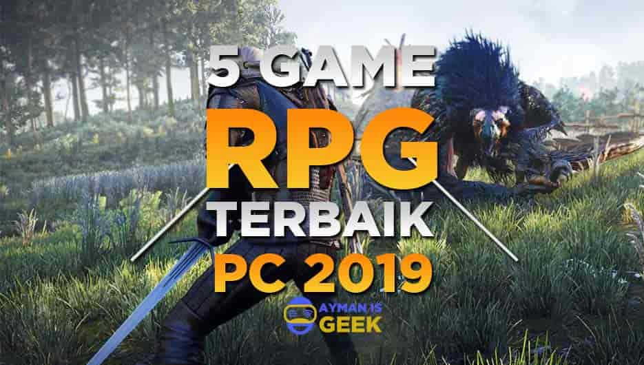5 Game RPG Offline Terbaik di PC / Laptop 2019